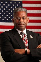 Col. Alan West, who loves God, loves the Constitution, loves guns, loves the flag and makes no bones about it.