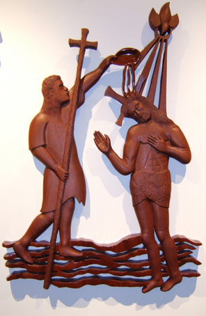 Lithuanian Crosses and Wood Carvings by George Mikalauskas