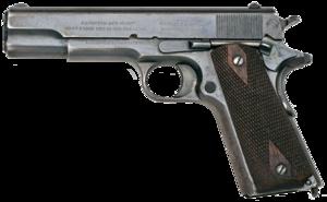 1911 Colt in .45 ACP