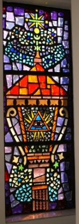 First Trinity Window - The Father