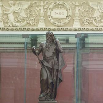 Moses with Commnandments, Rotunda of Library of Congress