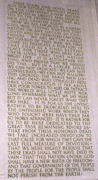 Lincoln's Words