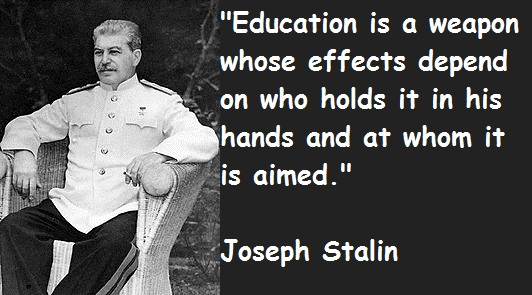 Image result for communist education quotes