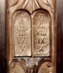 Bronze Commandments on Supreme Court Outer Doors