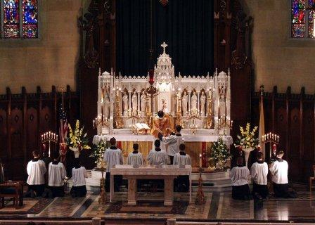 Traditional Latin Tridentine Mass, offered at Assumption Grotto Church in  Detroit, Michigan.  Our deepest prayer, our highest form of worship, and the way God should be treated.