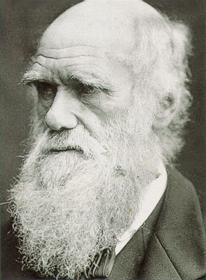 "Charles Darwin, the Monkey Man.  Click here for a refutation of his so-called ""scientific theory,"" which has never even been subjected to the scientific method."