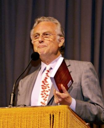 High-Priest Dawkins of the Church of Pointless, Purposeless, Directionless and Purely Accidental Existence. Formal name: Scientism.
