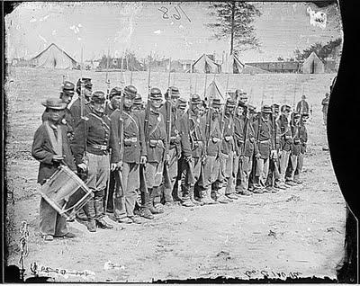 Civil War era military assault weapons.